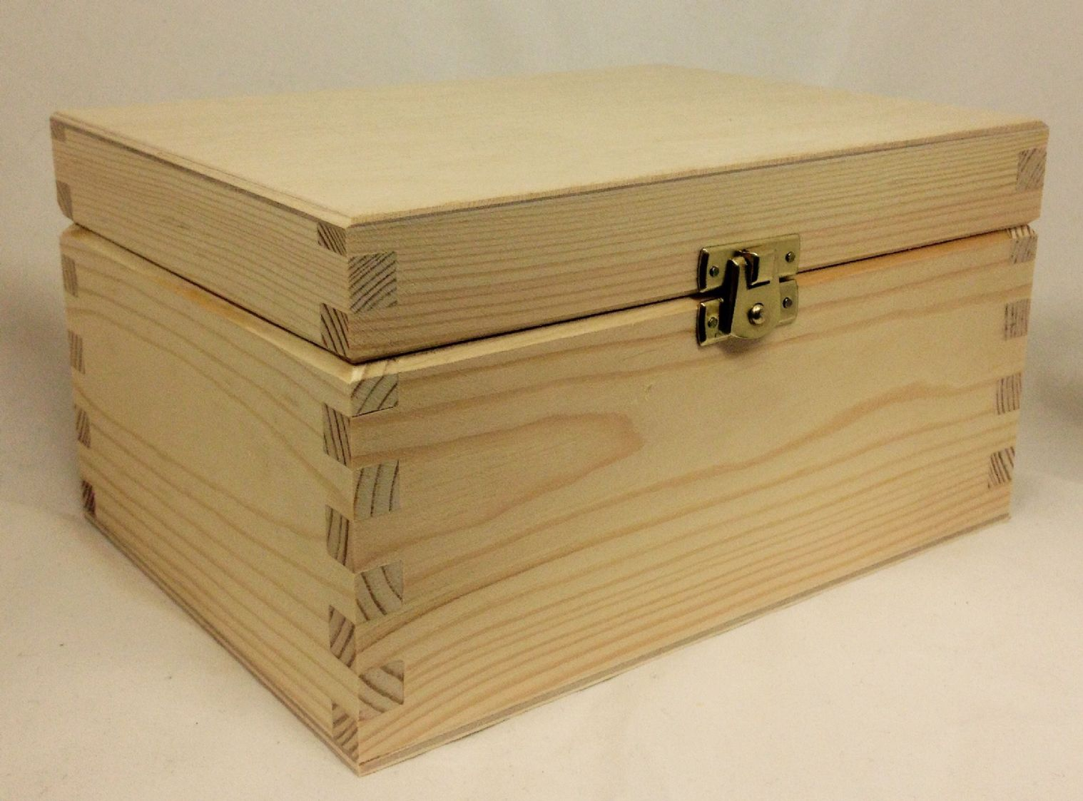 Pine Wood Storage Box Xxlarge